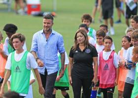 David Beckham v Inter Miami Academy