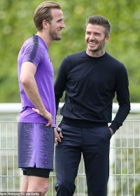 David Beckham a Harry Kane